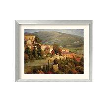Framed Art Print- Italian Lookout by Steven Ives, 8801456