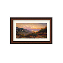 Framed Art Print- Tuscany Reflections by Leon Roulette, 8801458