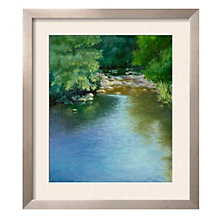 "Framed 30"" x 34"" Reflections Print by Mary Jean Weber, ARS-10311"