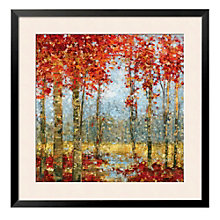 "Framed 33"" x 33"" Into The Light Print by Carmen Dolce, ARS-10334"