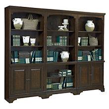 """Oakdale Fifteen Shelf Bookcase Wall - 77.5""""H, 8803659"""