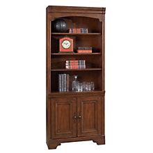 "Windsor Six Shelf Bookcase with Doors - 79""H, 8803592"
