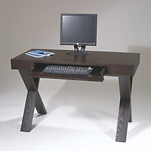 Lane Espresso Laptop Desk with X-Base, AVN-LAN25ES