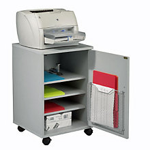 Gray Laminate Mobile Machine Stand, BAL-27502