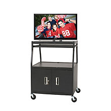 Wide Body Flat Panel TV Cart, BAL-27531