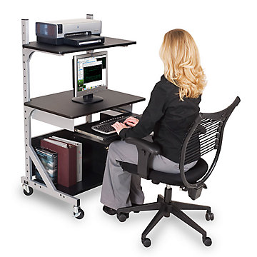 Stand-Up or Sit-Down Workstation, 42551