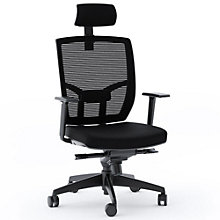 TC-223 Mesh Back Task Chair with Headrest and Fabric Seat, 8804608