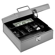 Gray Jumbo Cash Box, BDY-0518-1