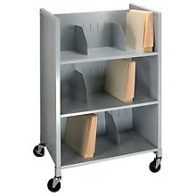 Mobile Three Tier File Folder Cart, BDY-5428-32