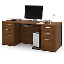 "Double Pedestal Executive Desk - 71""W, 8804687"