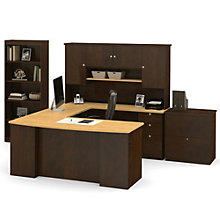 Manhattan Full Office U-Desk Set, BES-11067