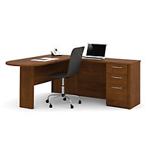Embassy Peninsula L-Desk with Pedestal, BES-11155