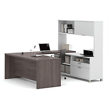 Pro Linea U-Desk with Hutch, OFG-UD0062