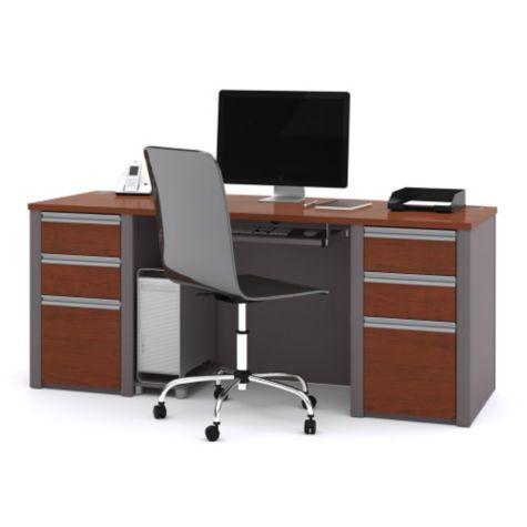 """Connexion puter Desk 71""""W by Bestar"""