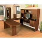 Tuscany Brown U-Shape Computer Desk, BES-52418-63
