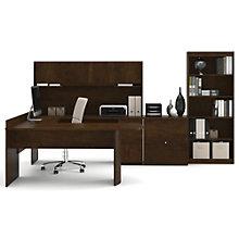 Executive Reversible Complete U-Desk Workstation, 8802130