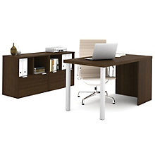 "i3 Metal Leg Desk and Storage Unit Set - 60""W, 8802191"