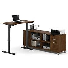 Pro Linea Adjustable Height L-Desk, 8804339