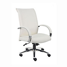 Rousseau High Back Vinyl Executive Chair, BOC-B9431-WT