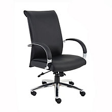 Rousseau High Back Vinyl Executive Chair, 8803671