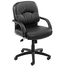 Conference Chair with Chrome Accents, BOC-B7406