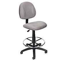 Armless Fabric Drafting Stool, BOC-B1615