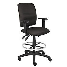 Multi-Function Drafting Stool with Adjustable Arms, BOC-B1636
