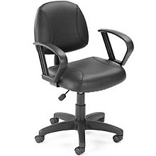 Sawyer Task Chair in Bonded Leather, BOC-B307