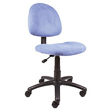 Microfiber Armless Task Chair, 8803549
