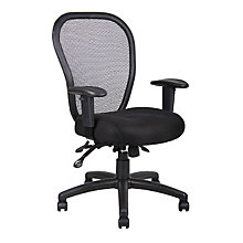 Fabric and Mesh Ergonomic Task Chair, BOC-B6008