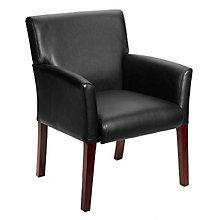 Vinyl Box Arm Guest Chair, 8802604