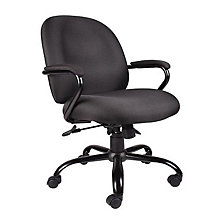 Heavy Duty Big and Tall Fabric Task Chair, BOC-B670