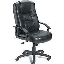 Austen High Back Managers Chair in Bonded Leather , BOC-B7501