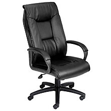 Abrams High Back Leather Executive Chair, 8803639