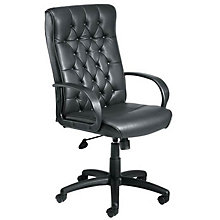 Hawking Traditional Tufted Leather Executive Chair, 8802406