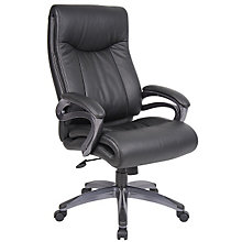 Abrams High Back Bonded Leather Executive Chair, BOC-B8661
