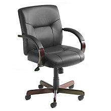 Dawson Leather Desk Chair, BOC-B8906