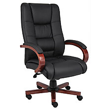 Dawson High Back Vinyl Executive Chair, 8802395