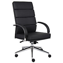 Rousseau High Back Vinyl Executive Chair, 8803655