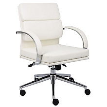 Rousseau Modern Vinyl Desk Chair, BOC-B9406