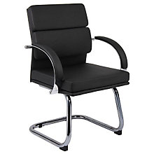 Chrome Frame Guest Chair, 8803657