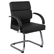 Chrome Frame Guest Chair, 8803657