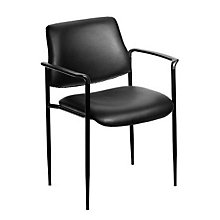 Square Back Vinyl Stacking Chair, 8803679