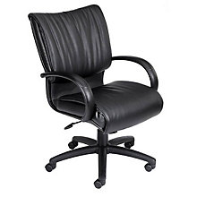 Pace Leather Desk Chair, BOC-B9706