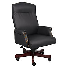 Widmore Traditional Vinyl Judges Chair, 8803685