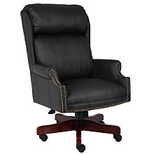 Widmore Traditional Vinyl Judges Chair, 8803688