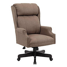 Cushioned Executive Chair in Fabric, 8807776