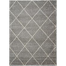Diamond Pattern Area Rug 5'W x 7'D, 8803839