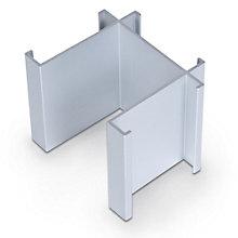 Standard Modular Panels 3-Way 90 Degree Connector, 8802303