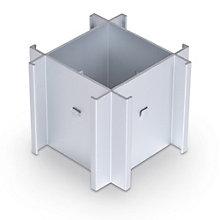 Standard Modular Panels 4-Way 90 Degree Connector, 8802305